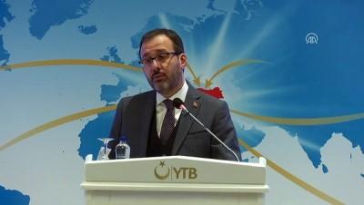 Bakan Kasapoğlu: 'Yurt dışında yaşayan gençlerimizi medeniyetler arasında bir köprü olarak görüyoruz' - ANKARA