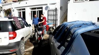 salda - Bodrum'da selin ardından güneş keyfi - MUĞLA