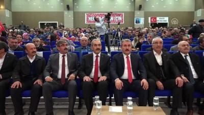 Destici: '(MGK Bildirisi) Sözde kalmasını değil, eyleme geçirilmesini istiyoruz' - SİVAS