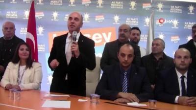 Mudanya AK Parti ilçe başkanı istifa etti