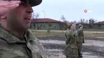 Bakanlık, bedelli askerlerin eğitimini paylaştı