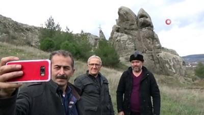 'Canavar kaya' görenleri şaşırtıyor Haberi