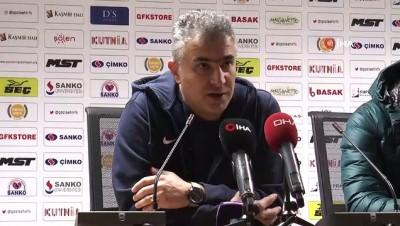 bulduk - Gazişehir Gaziantep - Balıkesirspor Baltok maçının ardından