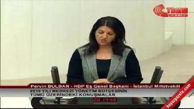 HDP'li Pervin Buldan'dan Öcalan'a övgüler