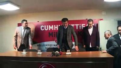 'İzmir'de işimiz gücümüz millete hizmet etmektir' - İZMİR