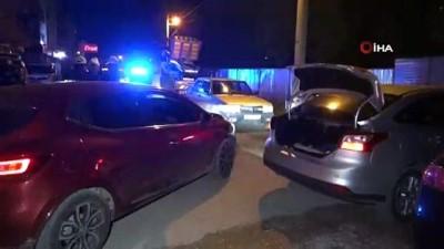 Polisin üzerine araç süren ehliyetsiz ve alkollü sürücü polisten kaçamadı
