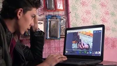 Suriyeli yetimler AA'nın 'Yılın Fotoğrafları' oylamasına katıldı - İDLİB