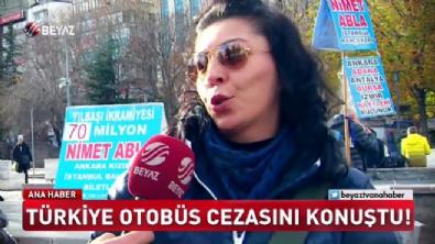 Türkiye otobüs cezasını konuştu