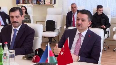 Türkiye ve Azerbaycan tarımsal iş birliğini geliştirecek - BAKÜ