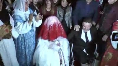 AK Parti Kadın Kolları engelli çifti evlendirdi - ŞIRNAK