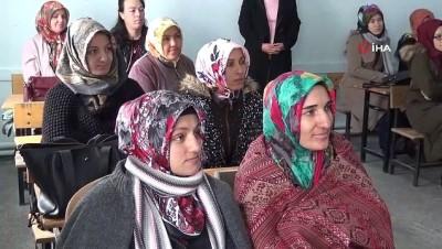 Aksaray'da kadın üreticiler eğitimde