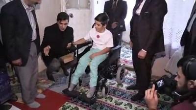 Akülü sandalyeye kavuşan Ferhat okula gidebilecek - AĞRI