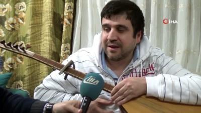 Görme engelli müzisyen kardeşler 600 türküyü ezbere biliyor