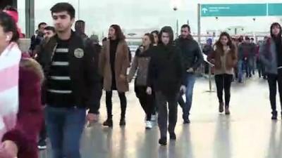 İZBAN'daki grev trafik yoğunluğunu artırdı (2)