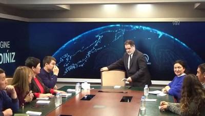 Kazakistan medya heyetinden AA'ya ziyaret - ANKARA