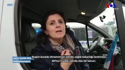 Paris'te Türk Ambulans Şoförü VOA Türkçe'nin Sorularını Yanıtladı