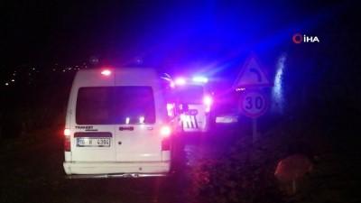 Polis 4 metrelik çukura iple inip defineci aradı