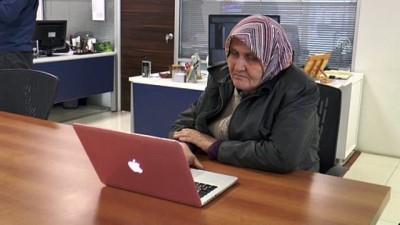 'Saadet teyze' AA'nın fotoğraflarını oyladı - SAKARYA