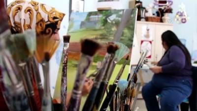 Sanatı ile engellilerin kalbine dokunuyor - ELAZIĞ Haberi