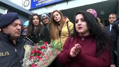 Sosyoloji öğrencilerinden polislere ziyaret - AFYONKARAHİSAR
