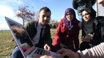 Yabancı öğrenciler AA'nın 'Yılın Fotoğrafları' oylamasına katıldı - VAN