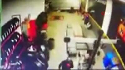 hirsiz -  30 bin lira değerinde kış lastiği çalan hırsızlar kamerada