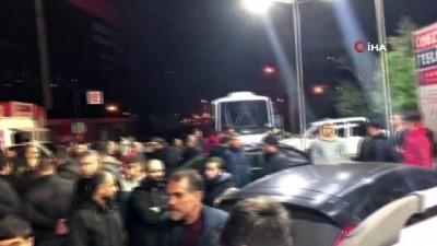 Ataşehir'de 'dur' ihtarına uymayan araca ateş açıldı: 1 ölü Video