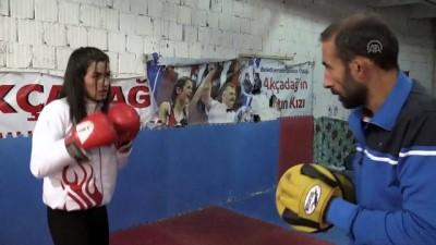 Avrupa şampiyonu boksör gözünü dünya şampiyonluğuna dikti - MALATYA