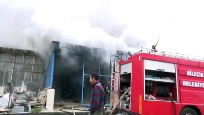 gubre - Gübre deposunda yangın - BİLECİK