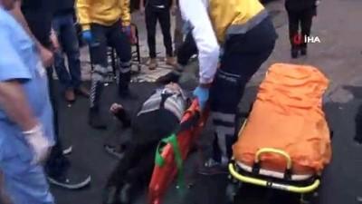 İstanbul'da geri manevra yapan sürücü yaşlı kadına çarptı...
