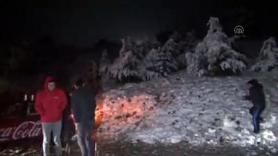 Muğla'nın yüksek kesimlerine kar yağdı - MUĞLA Video