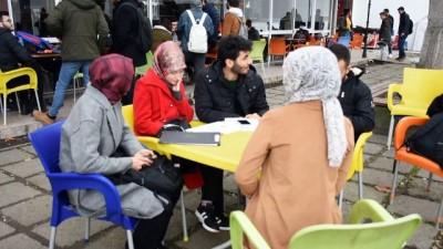 Üniversiteliler 'Yılın Fotoğrafları' oylamasına katıldı - TRABZON