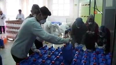 ogretmen -  3 ilin kurumlarının temizlik malzemeleri bu okulda üretiliyor
