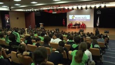Ampute Milli Futbol Takımı, öğrencilerle buluştu - ANKARA
