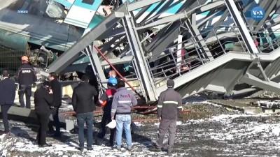 Ankara'da Hızlı Tren Kazası Can Aldı