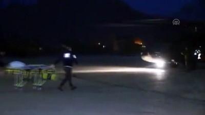 Askeri helikopter fenalaşan hasta için havalandı - AĞRI