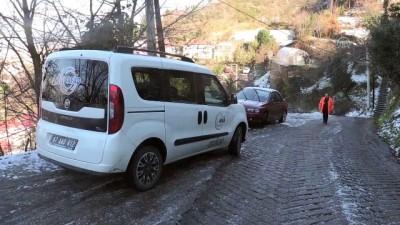 Heyelan sonucu tehlike arz eden 11 ev boşaltıldı - ZONGULDAK