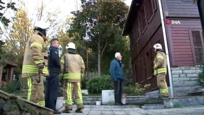 Kız kardeşi gözyaşlarına boğuldu... Beykoz'da ahşap binada çıkan yangında yaşlı adam hayatını kaybetti