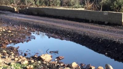 Petrol boru hattına yıldırım düşmesi - GAZİANTEP