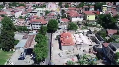 Tarihi Namazgah Hamamı eski ihtişamına kavuştu