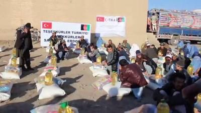 TİKA'dan Afganistan'daki savaş mağduru ailelere yardım - KABİL