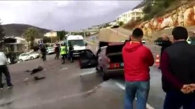 Antalya'da trafik kazası: 2'si çocuk 6 yaralı Haberi