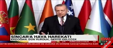 Cumhurbaşkanı Erdoğan'dan ABD'ye Münbiç mesajı İzle