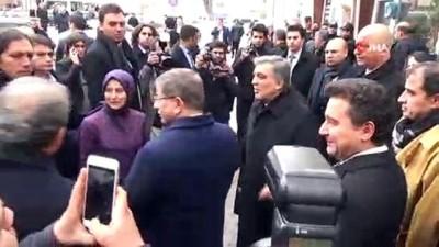 Eski Milli Eğitim Bakanı Dinçer'in babası son yolculuğuna uğurlandı