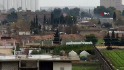 Terör örgütü YPG Kamışlı'da hendek kazıyor