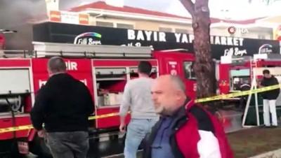 kamera -  Ünlü tatil merkezindeki iş yerinde büyük yangın