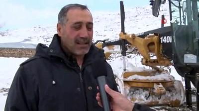 Van Büyükşehir Belediyesinden kar mesaisi