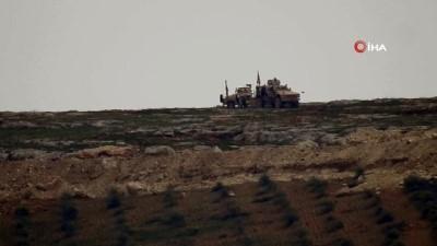 -ABD Askerleri Nöbet Tuttu, Ypg'liler Hendek Kazdı