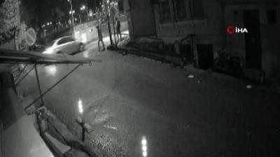 kamera -  Motosiklet hırsızları kamerada