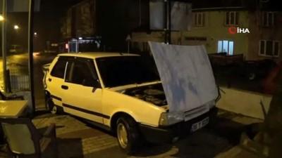 direksiyon -  Polisten kaçtı jandarma bölgesinde kaza yaptı